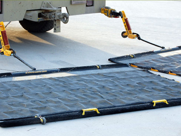 FOD * BOSS-system of high-speed cleaning of the airfield and road surfaces