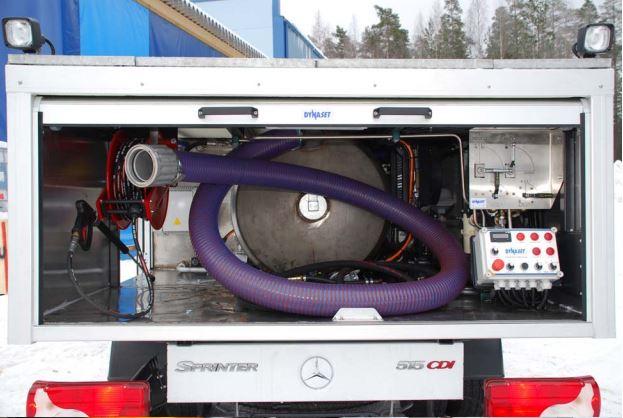 Специальная машина для обслуживания туалетных отсеков «Immo-HPW200» - «АэроФиалка»